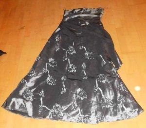 Sixth Sense Abendkleid Ballkleid Gr 42 silber