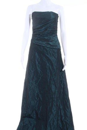 Sixth Sense Abendkleid schwarz-petrol Elegant