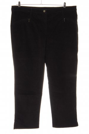 Sixth Sense Pantalón de pana negro look casual