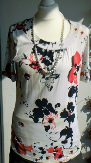 Sixth Sense: Oberteil / Shirt / Shirtbluse All-Over-Print (40/M)