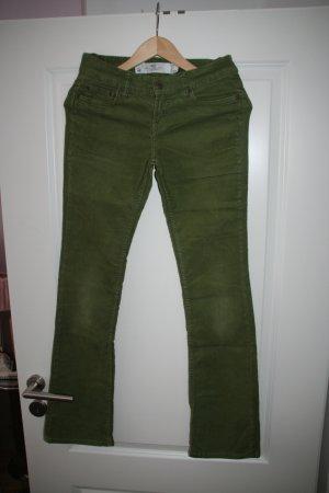 Sixties Cord-Jeans mit leichtem Schlag