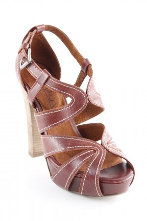 Sixtyseven Peeptoe Pumps cognac Casual-Look