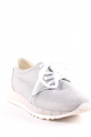 Sixtyseven Lace-Up Sneaker silver-colored-white glittery