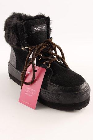Sixtyseven Bottes de neige noir style décontracté