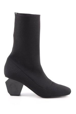 Sixtyseven Botas elásticas negro estilo minimalista