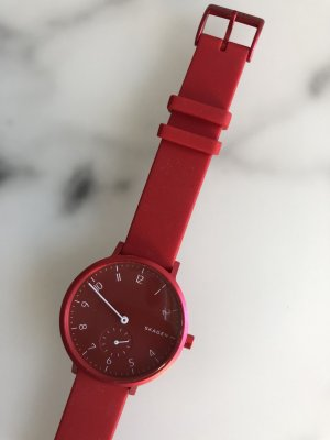 Skagen Self-Winding Watch red-neon red