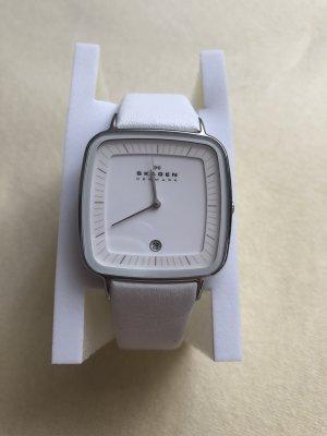 Skagen Analoog horloge wit-zilver
