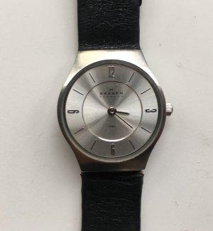 Skagen Armbanduhr Stahl klassisch