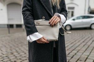 SKAGEN Clutch Grau Blogger Style