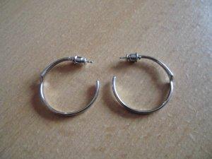 Skagen Ear Hoops silver-colored