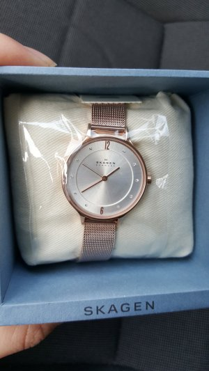 Skagen Watch With Metal Strap multicolored stainless steel