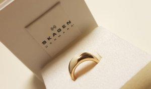 Skagen Ring rosé Gold mit Perlmutt
