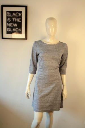 Skater Kleid Jersey H&M wie Neu Midi/Mini blau Meliert Gr M Blogger