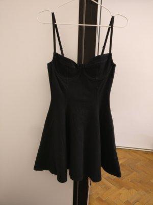American Apparel Vestido bustier negro