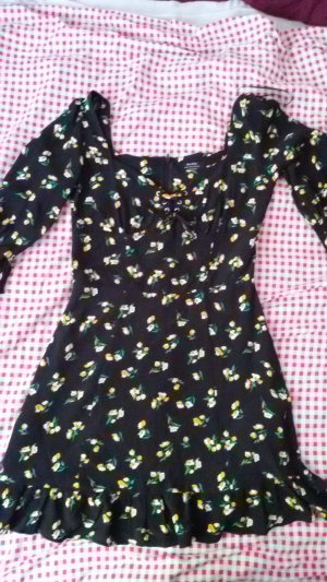 Bershka Mini vestido multicolor