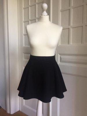 H&M Divided Skater Skirt black