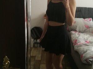 Skaterrock (schwarz)