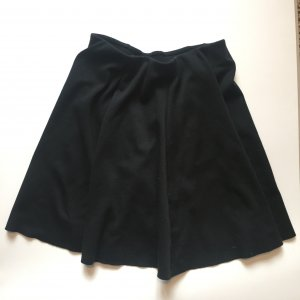 Zara Skater Skirt black mixture fibre