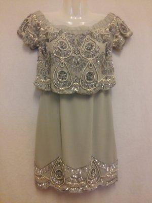 Asos Robe courte multicolore polyester