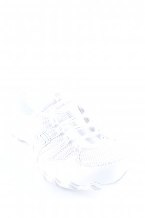 Skechers Sabots weiß-silberfarben Casual-Look