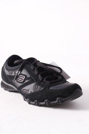 Skechers Scarpa stringata nero stile casual