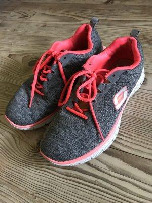 Skechers Schuhe Grau | Pink