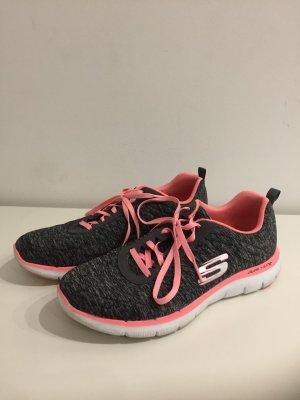 Skechers Sneaker - grau/pink