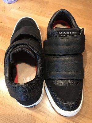 Skechers Sneaker con strappi nero Pelle