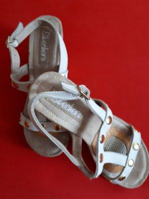 Skechers Sandalo con tacco bianco