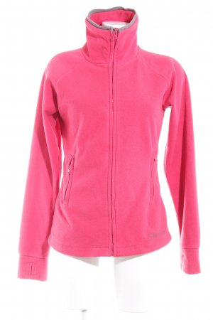 Sketchers Fleecejacke rot Casual-Look