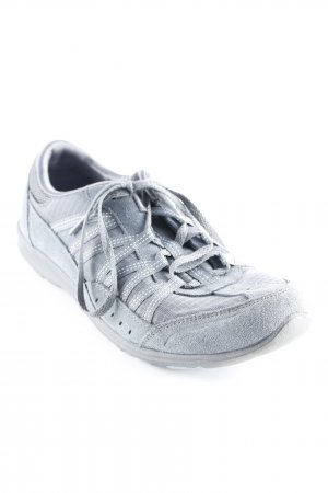 Sketchers Schnürsneaker graublau Casual-Look