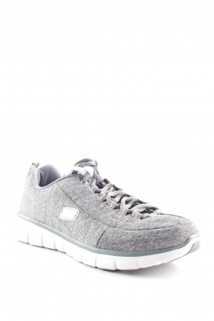 Sketchers Schnürsneaker hellgrau Casual-Look