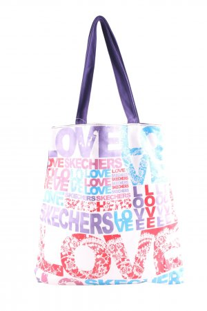 Sketchers Canvas Bag printed lettering casual look