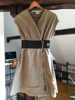 SKFK Kleid / Wickelkleid Größe 36 taupe/schwarz