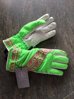 Ski Handschuhe von BOGNER aus Leder