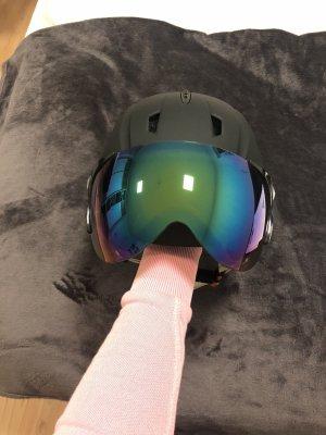 Ski- Helm mit Visier *NEU*