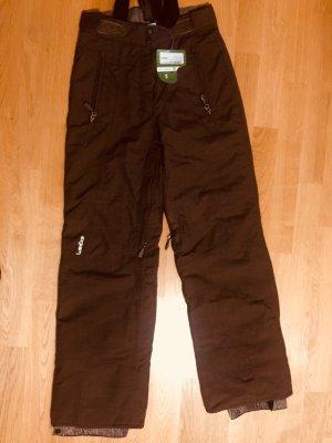 Snow Pants brown-brown red