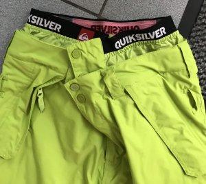 Quicksilver Pantalone da neve verde prato