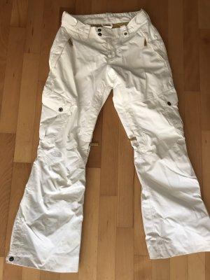 North Face Snow Pants natural white-camel