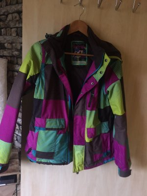 Protest Outdoor Jacket pink-green