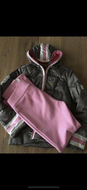 Bogner Veste d'hiver gris-rose