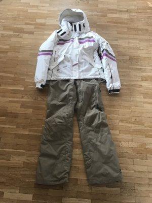 Skianzug, Zweitteiler für Damen; Jacke mit Hose