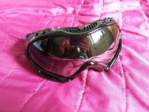 Skibrille Alpland schwarz