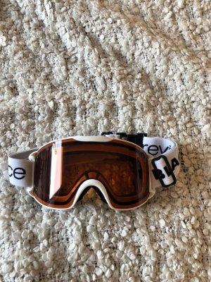 Occhiale da sole bianco-arancione chiaro