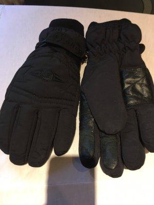 Bogner Gevoerde handschoenen zwart Polyester