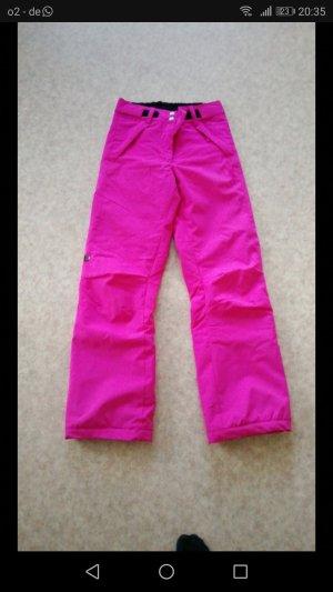 Pantalon thermique rose