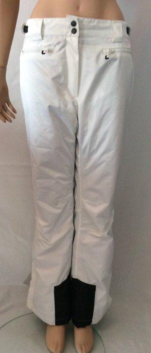 active Pantalon de ski blanc-noir polyester