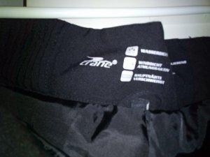 Pantalon thermique noir tissu mixte