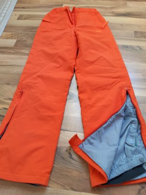 Pantalone da neve arancione scuro
