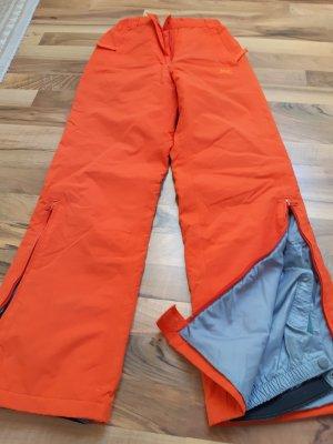 Pantalón de esquí naranja oscuro